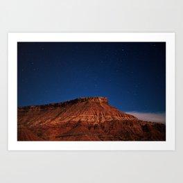 Under a Moab Sky Art Print