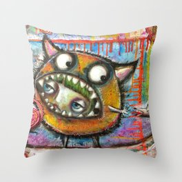 I Don't Know How This Happened Throw Pillow