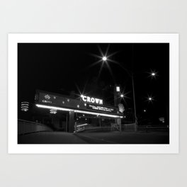 Welcome to sin. (Melbourne, 2011) Art Print