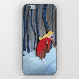 Waiting in the Woods iPhone Skin