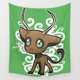 Zodiac Cats - Taurus Wall Tapestry