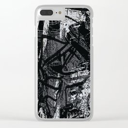 stroke of madness Clear iPhone Case
