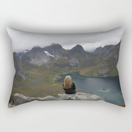 Never ending view Rectangular Pillow