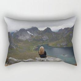 Never ending view Rectangular Pillow