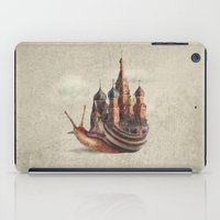 marine iPad Cases featuring The Snail's Daydream by Eric Fan