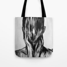 Surreal Distorted Portrait 03 Tote Bag