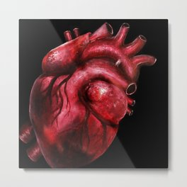 Why I aorta (II) Metal Print