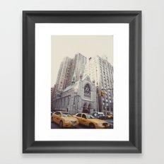 rush::nyc Framed Art Print