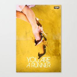 You Are A Runner Canvas Print