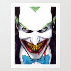 That Evil Smile Art Print