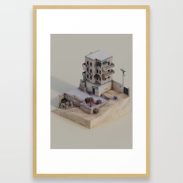Bomb Has Been Planted Framed Art Print