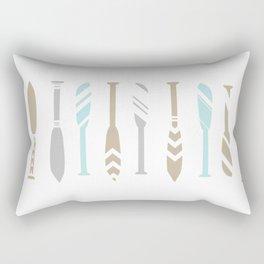River OAR Ocean Rectangular Pillow