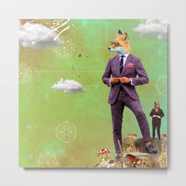 STYLE is FOREVER. FOX TROT. Metal Print