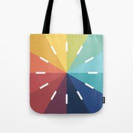 Modern Color Wheel Tote Bag