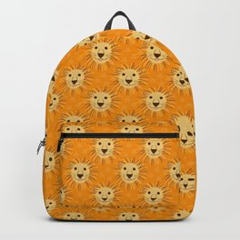 Lions in Flame Orange Backpack