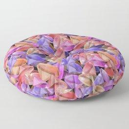 Placer precious stones gems . Floor Pillow