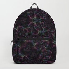 Branching Rainbow Fractal Kaleidoscope 2 Backpack