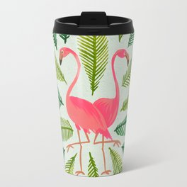 Flamingos Travel Mug
