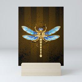 Mechanical Dragonfly ( Steampunk ) Mini Art Print