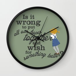 Something Better Wall Clock