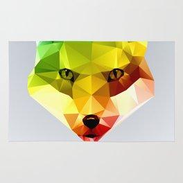Glass Animal - FOX head Rug