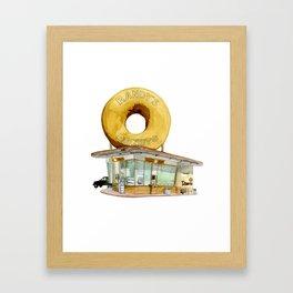 Randy's Donuts Framed Art Print