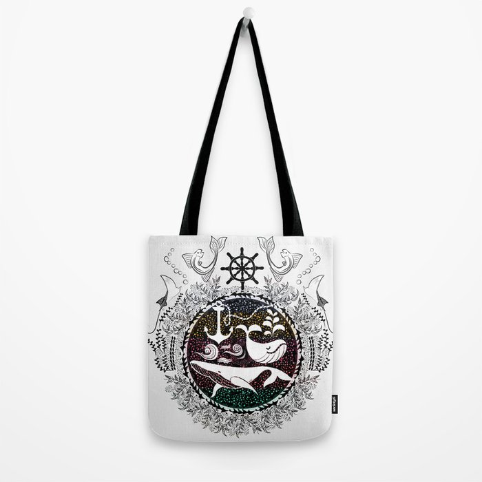 Ocean Galaxy Tote Bag