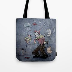 Night Clown Tote Bag