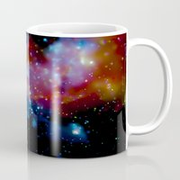 milky way Mugs featuring Milky Way by Upperleft Studios