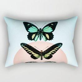 Butterfly parade Rectangular Pillow