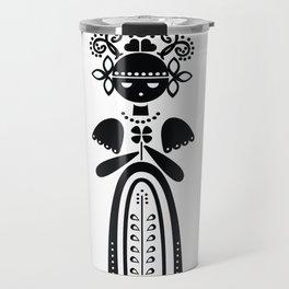 Folk Doll Travel Mug