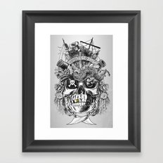 No Quarter Framed Art Print