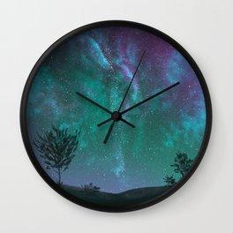 Under The Sky Full Of Stars, I'd Still Stare At You Wall Clock