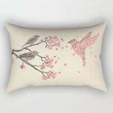 Blossom Bird  Rectangular Pillow