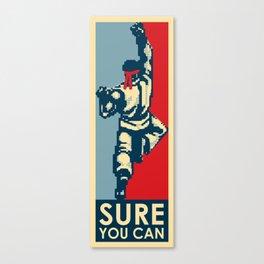 Sure-you-ken! Canvas Print