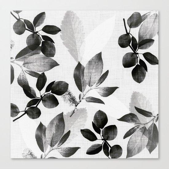 Foliage - nightfall Canvas Print