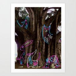 Tule Art Print