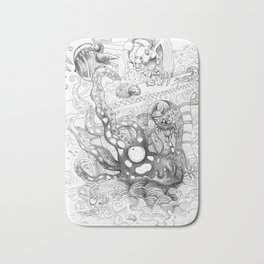 Commotion in the Ocean Bath Mat