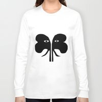 elephants Long Sleeve T-shirts featuring Elephants by Alenson Design