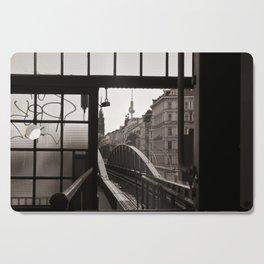 BERLIN TELETOWER - urban landscape Cutting Board