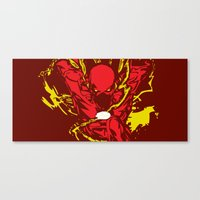 the flash Canvas Prints featuring Flash by Timothy Wood