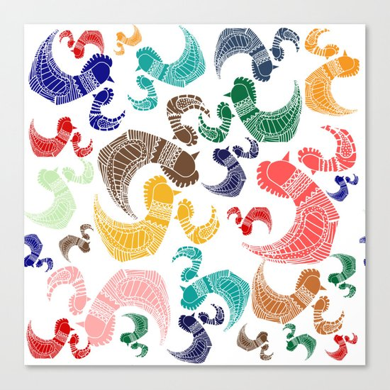Rooster´s Canvas Print