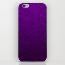 Purple marble iPhone Skin