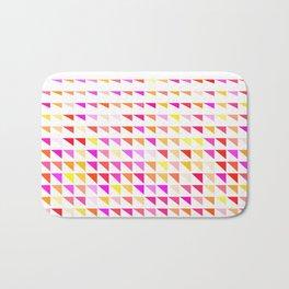 fete triangle pattern Bath Mat