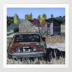 By the Roadside Art Print