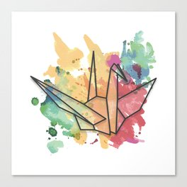Sundara Tsuru Canvas Print