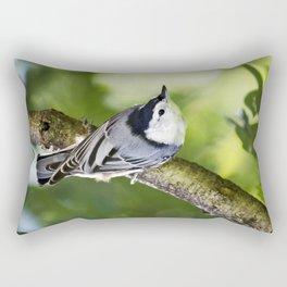 Charming Nuthatch Rectangular Pillow