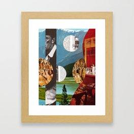 Memory Landscapes Framed Art Print