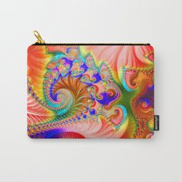 Fractal flower Carry-All Pouch