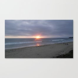 Sunset on the Gulf Canvas Print